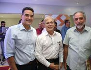 Daniel Arruda, Otarcílio Valente e Osvaldo Sousa