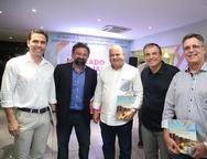 Caros Fiuza, Jocélio Leal, Luciano Cavalcante, Ricardo Bezerra e Jose Carlos Gama