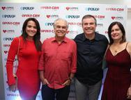 Carolina Barbosa, Ricardo Miranda, Ricardo e Luciana Bezerra