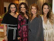 Adriana Miranda, Eveline Fujita, Maira Silva e Nicole Brookes