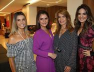 Liliana Diniz, Liliana Linhares, Maira Silva e Eveline Fujita