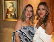 Juliana Azevedo e Sakie Brookes