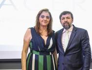 Carmen L�cia Dummar e �lcio Batista