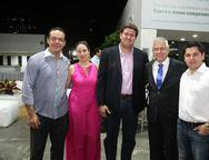 Demetrios Andrade, Luciana Barroso, Rafael Rodrigues, Paulo C�sar Nor�es e Pompeu Vasconcelos