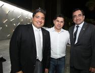 Leandro Vasques, Pompeu Vasconcelos e Jardson Cruz