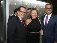 Jos� Valdo, Zuleica Catunda e Marcelo Mota