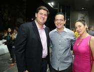 Rafael Rodrigues, Demetrios Andrade e Luciana Barroso