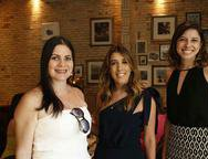 Cynara Mariano, Raquel Machado e Kel Viana