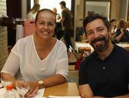 Isabela Gomind e Carlos