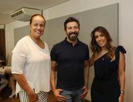 Isabela Gomind, Carlos e Raquel Machado