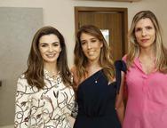 Monaliza Cavalcante, Raquel Machado e Niliane Meira