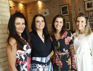 Lara Cisnando, Débora Sales, Cláudia Diniz e Liliane Diniz