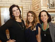 Nicole Albuquerque, Raquel Machado e Verônica Castelo Branco