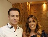 Rodrigo Maia e  Raquel