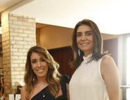 Raquel Machado e Rebecca Albuquerque