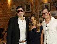 William Marques, Raquel e Hugo Machado