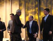 Espedito Seleiro, Roberto Claudio e Helton Yomura