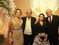 Elane Lavor, Espedito Celeiro, Patrícia e Adriano Paiva