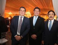 Fábio Zech, Helton Yomura e Raimundo Gomes de Matos