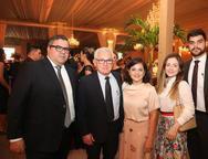 Fernando Timbó, Ubiranildo e Francilene Alves, Karine e Isac Alves