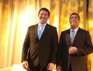 Helton Yomura e Luiz Gastão Bittencourt