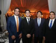 Lucas Asford, Pedro e Raimundo Gomes de Matos e Caue Fontelles