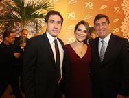 Luiz, Mila e Luiz Gastão Bittencourt