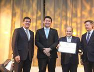 Luiz Gastão Bittencourt,  Helton Yomura, Roberto Cláudio e Mauricio Filizola