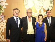Mauricio Filizola, Espedito Celeiro, Régina Pinho e Luiz Gastão Bittencourt