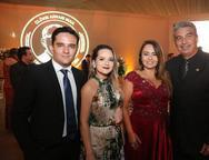 Mateus Borges, Anneline Magalhães, Darlene e Marcus Monteiro