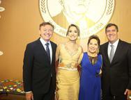 Mauricio Filizola, Elane Lavor, Régina Pinho e Luiz Gastão Bittencourt