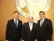 Mauricio Filizola, Roberto Claudio e Luiz Gastao Bittencourt