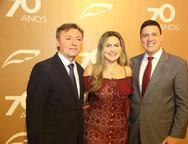Mauricio Filizola, Karine e Alex Nogueira