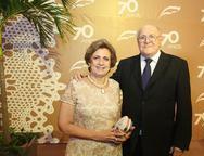 Regina Aragão e Luis Marques