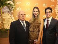 Ubiratan, Aline e Andrei Aguiar