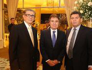 Alberto Farias, Jorge Parente e Francisco Everton