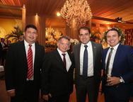 Alisson Uchoa, Mardônio, Salmito e Disraeli Arrais