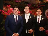 Josias Junior, Lucas Cavalcante e Paulo Maciel