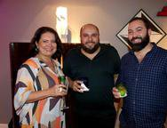 Helena Braga, Erico Monteiro e Daniel Porto