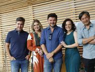 Alexandre Pereira, Lili Meira, Paulo Alves, Mila Rodrigues  e Marcelo Yamashita