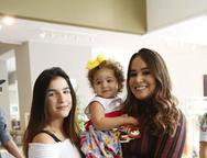 Amanda, Safira e Larissa Wanderley