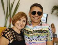 Celene Gurgel e Carlos Zaranza