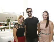 Celene Gurgel, Carlos Otávio e Mirela Barbosa
