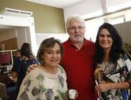 Cecília, Dudu Nobrega e Conceição Garcez