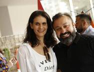 Danielle Araújo e Eduardo Fontelles