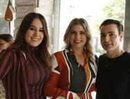 Larissa Wanderley, Lili Meira e Rodrigo Maia