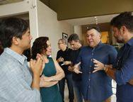 Marcelo Yamasita, Mila Rodrigues, André Monte e Paulo Alves