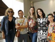 Michelli Brito, Lindenbergue Fernandes, Luciana Granjeiro e Cibelle Barreira