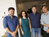 Paulo Alves, Mila Rodrigues,  Alexandre Pereira e Marcelo Yamashita