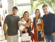 Rita Braga, Carlos Oliveira, Liz, Lili Meira e Alexandre Pereira